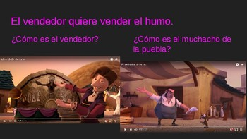 El Vendedor de Humo Movie Talk Screenshots with questions