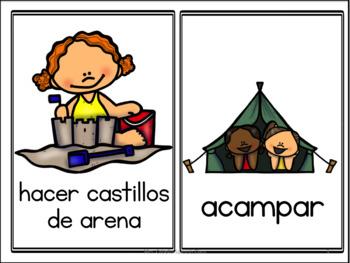 Summer in Spanish Activity Pack - El Verano