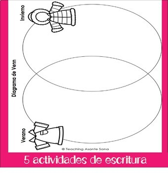 El Verano: Lectura y escritura - Summer in Spanish: reading & writing activities