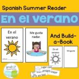 En el Verano Spanish Reader & Build-A-Book for summer