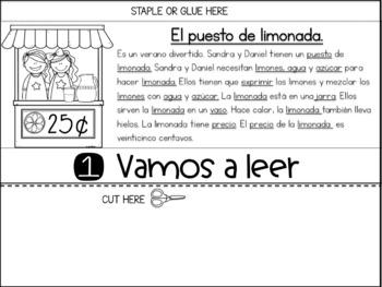 El Verano - Summer Themed Flipbooks (Summer Flipbook in Spanish)