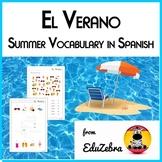 Summer Vocabulary in Spanish - El Verano - Activity Pack