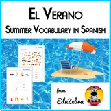 Summer Vocabulary in Spanish - El Verano - Activity Pack