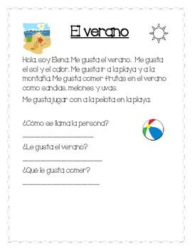 El Verano / The Summer