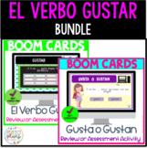 El Verbo Gustar Boom Cards Bundle