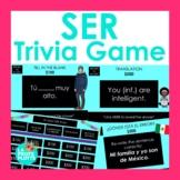 El Verbo SER Jeopardy-Style Trivia Game