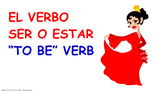 """El Verbo """"Ser y Estar"""" en español. PPT / SIN AUDIO."""