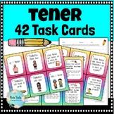 El Verbo TENER (To Have) 42 Task Cards