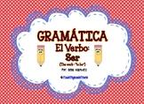 """El Verbo """"ser"""" (dual language)"""