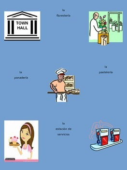 El Viejo - City Vocabulary