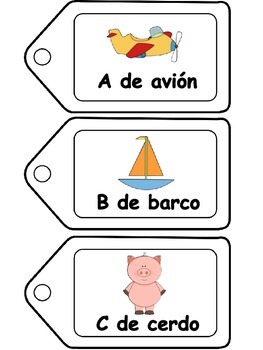 El abecedario- Spanish resources