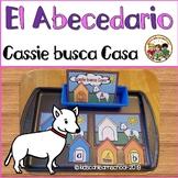 Estacion de trabajo para aprender el abecedario- Cassie busca casa