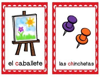 El abecedario/Alphabet posters in Spanish