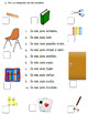 La clase - Worksheet, Poster & Games Bundle