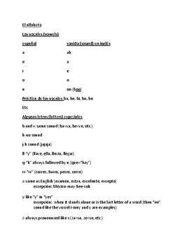 El alfabeto-broken down