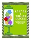El alfabeto dulce-Spanish alphabet activities