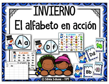 El alfabeto en acción - INVIERNO