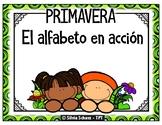 El alfabeto en acción - PRIMAVERA