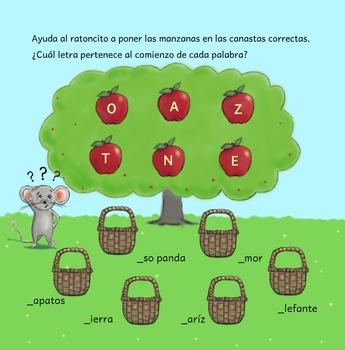 El alfabeto en español