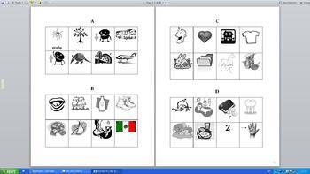 El alfabeto español - Spanish alphabet bundle