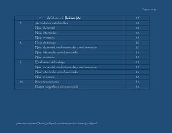 El alfabeto español y canciones 3 y 4