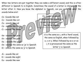 El alfabeto - how to pronounce the Spanish alphabet
