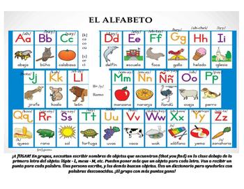 El alfabeto + práctica/ The alphabet (with practice)