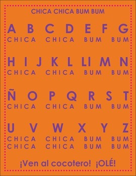 El alfabeto/Alphabet unit
