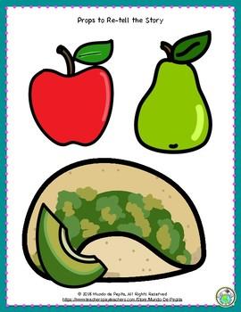 El almuerzo de Pepita Mini Theme Pack School Lunch