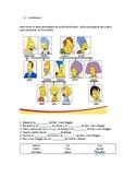 El árbol genealógico de los Simpsons (A1)