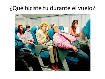 El avión de la bella durmiente escrito por Gabriel García Márquez