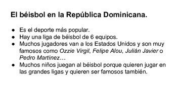 El béisbol en la República Dominicana