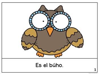 El búho y el saltamontes ~ The Owl and the Grasshopper Readers {Bilingual}