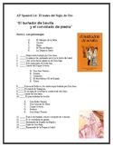 AP Spanish Literature-El burlador de Sevilla-Exam