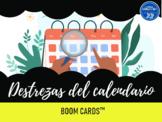 El calendario - Boom Cards