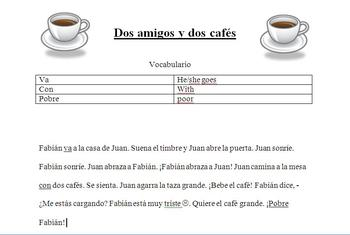 Spanish TPR activity: Argentinian Coffee
