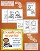 El centro de escuchar ~ Listening Center mini book