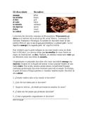 El chocolate Lectura - Spanish Reading on Chocolate