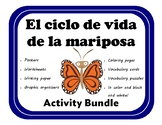 El ciclo de vida de la mariposa Activity Bundle