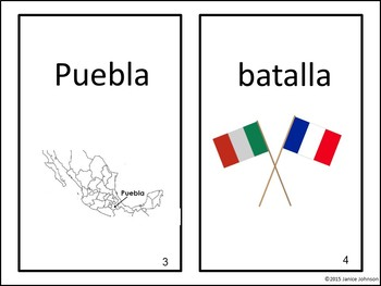 El cinco de mayo Spanish Emergent Reader Book {Dual language, immersion, FLES}