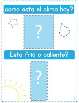 Montessori - El clima (the weather)