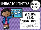 El clima y las estaciones (Weather and 4 Seasons)