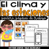 El clima y las estaciones- weather and seasons {SPANISH}