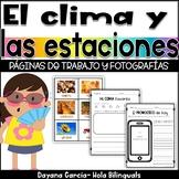 El clima y las estaciones- weather and seasons {SPANISH}