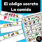 El código secreto: La comida (Spanish Secret Code Words Food Center)