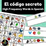 El código secreto: palabras de uso frecuente (Spanish Secret Code HFW)
