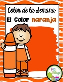 El color naranja