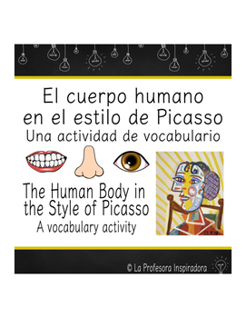 Vocabulario del cuerpo humano / Parts of the body in Spanish