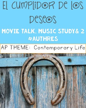 El cumplidor de los deseos:  Movie Talk AND Music Study!
