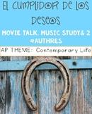 El cumplidor de los deseos:  Movie Talk AND Music Study!